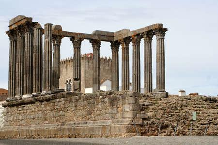 Temple of Diana, Evora, Alentejo, Portugal photo