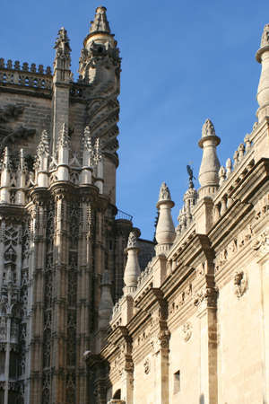 details of the Cathedral in Seville, Spain Stock Photo - 390178