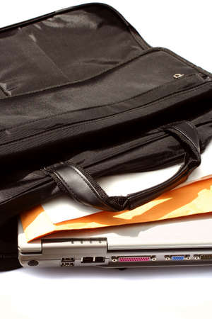 business computer (laptop) case Stock Photo - 390111