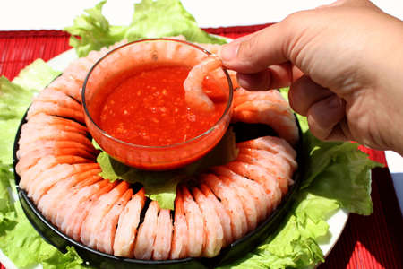 cater: delicious shrimp