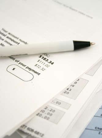 amounts: bills owing