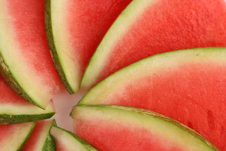 sliced watermelon: sliced watermelon
