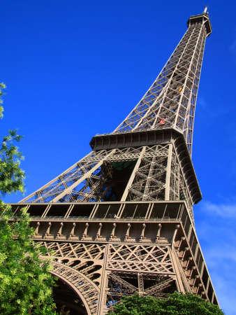 sightsee: Eiffel  Tower, Paris, France
