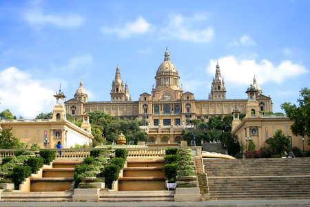 Art gallery in Barcelona, Spain