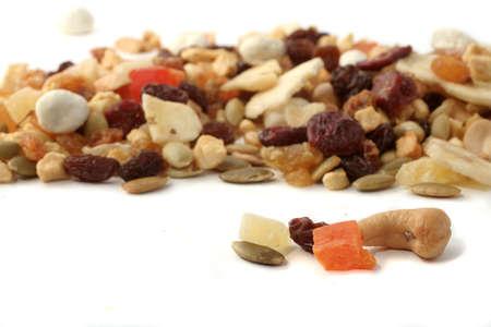 papaya flower: mixed nuts and dried fruits