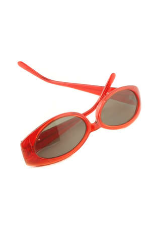 funky red sunglasses for summer eye protection