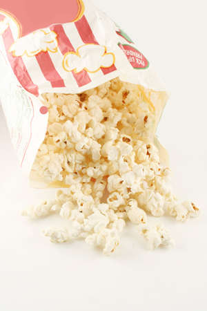 bag of warm  and delicious popcorn Stock Photo - 624897