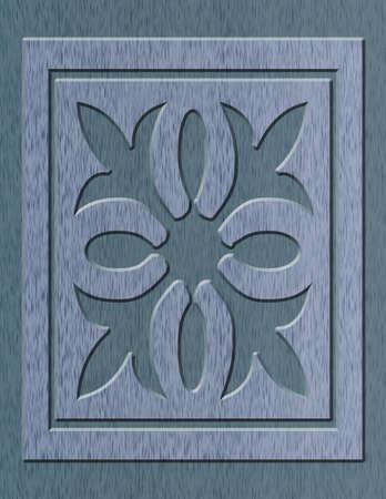 illustration of wood oak background with design illustration
