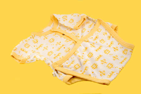 white and yellow  jumper for newborn