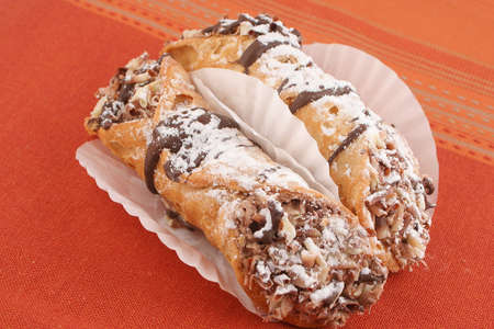 chocolaty: Delicious cream filled and chocolate drizzled European pastries