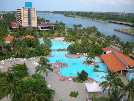 varadero: hotel and swimming pool in Varadero, Cuba