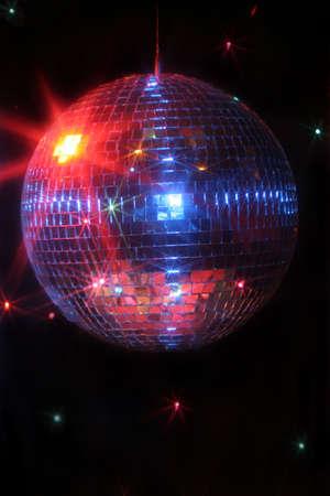 mirror disco ball giving off a party vibe at a discoteque Stock Photo - 3446403