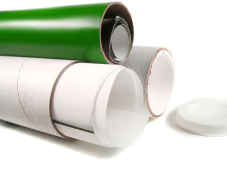 cardboard tubes for shipping business materials