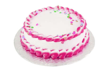 frosted: frosted blank festive cake great for any occasion like a birthday