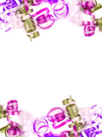 Chicorées festive coloré de ruban bon pour arrière-plan ou la bordure  Banque d'images - 6273924