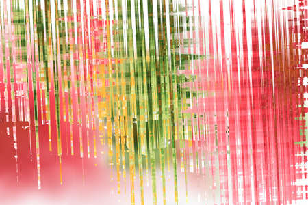 green lines: Abstract grunge background with green and pink lines for spring