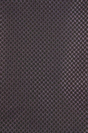 material: Close up of black textured material used in suits Stock Photo