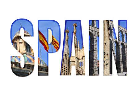 別の観光スポットを持つスペイン型
