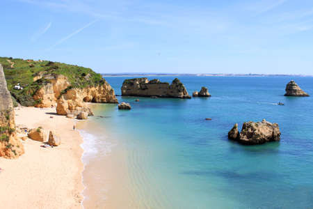 Dona Ana Beach in Lagos, Algarve, Portugal