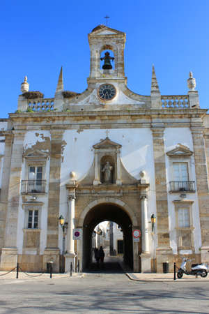 Arco da Vila, a Faro arch into the old town
