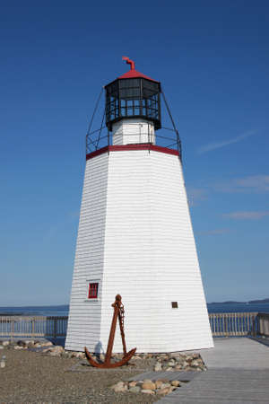 maritimes: Lighthouse in St. Andrews by the Sea, New Brunswick, Maritimes, Canada