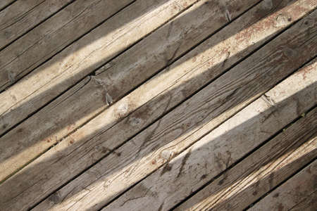 floorboards: Slits of sunlight on wooden floorboards creating an abstract background