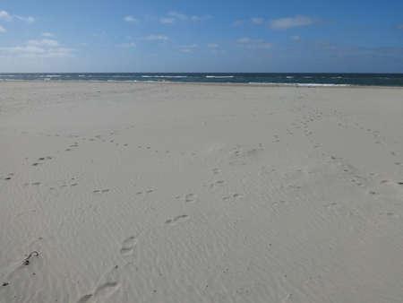 Photo of beautiful view on sea coast, filmed from the coast