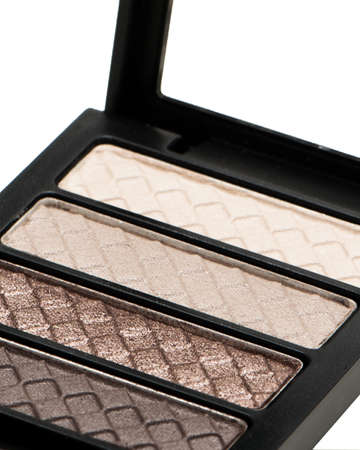 close up of eyeshadow palette Stock Photo