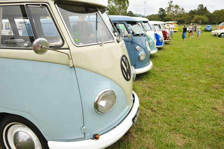 Coolangatta, Australia - 21 November, 2010 - Kombi Show Editorial