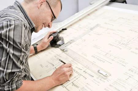 arquitecto: arquitecto feliz Foto de archivo
