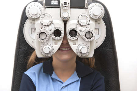 eye patient: eye tests are fun