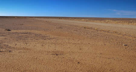 Australian desert: its hot; its empty. photo