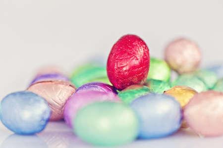 soft pastel easter egg image Stock Photo