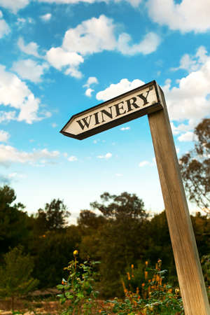 winery sign photo