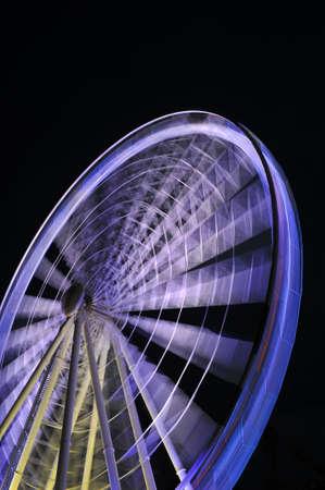 a big ferris wheel at Brisbanes Southbank  Stock Photo