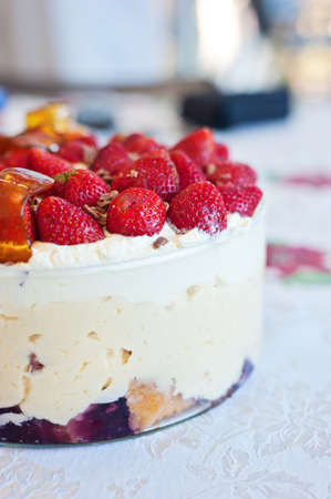 natural light image of trifle