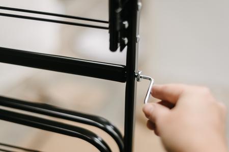 allen key: hand turning allen key in diy furniture