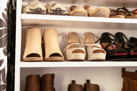 shoes: organised wardrobe, the shoe storage