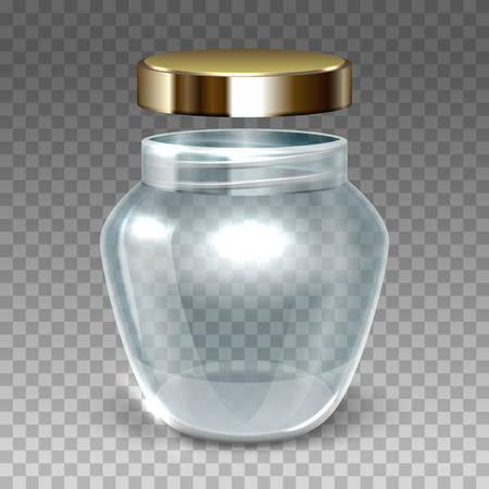 格子縞の背景に金ふた付き玉のベクトル イラスト  イラスト・ベクター素材