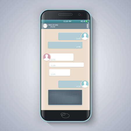 Messenger window.