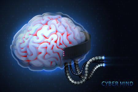 Cyberpunk technology of the future.