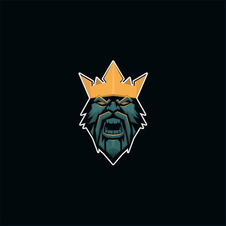 King Logo E Sport Style
