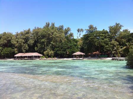美しい島のビーチ 写真素材