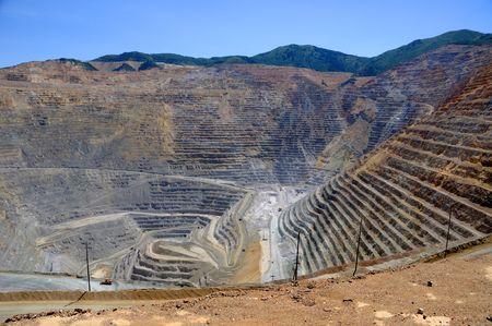 mijnbouw: Bingham Kennecott koper mijn