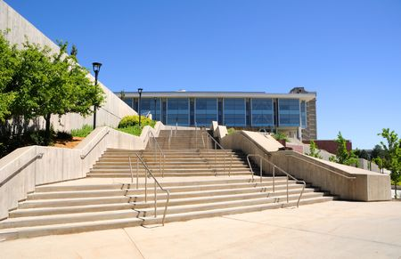 higher learning: Campus Library at the University of Utah