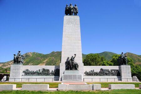 emigranti: Questo � il monumento di Place