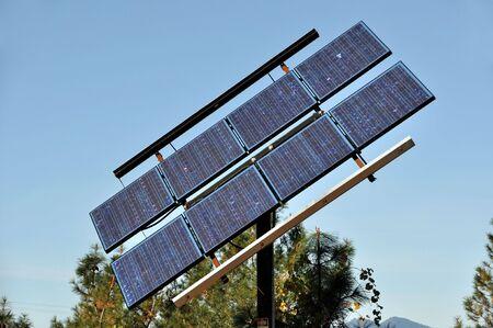 Renewable Solar Power Energy Panel  photo