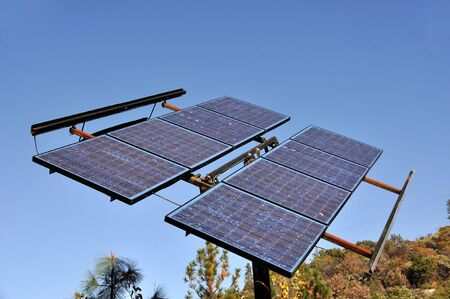 Renewable Solar Power Energy Panel Stock Photo - 7626680