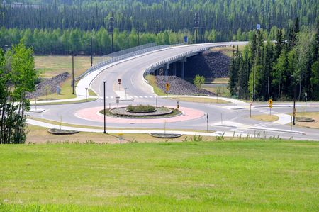 roundabout: Campus Roundabout