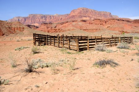 Historic Corral at Lonely Dell Ranch  photo
